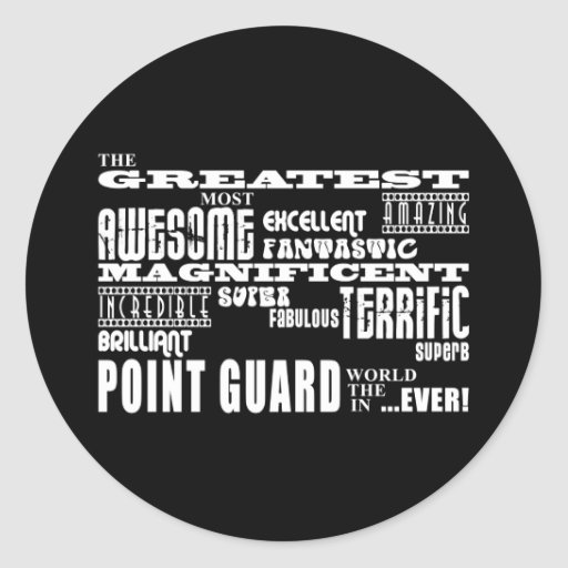 Best Basketball Point Guards  Greatest Point Guard Stickers
