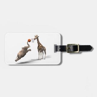 Best Basketball Scorer Bag Tag