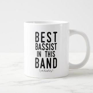 Best Bassist (probably) (blk) Large Coffee Mug