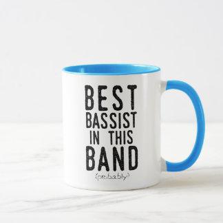 Best Bassist (probably) (blk) Mug