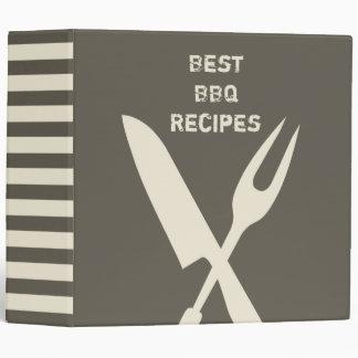 Best BBQ Recipes Vinyl Binder