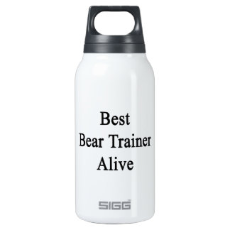 Best Bear Trainer Alive SIGG Thermo 0.3L Insulated Bottle