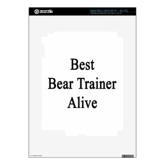 Best Bear Trainer Alive Decal For iPad 3