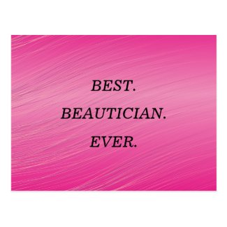 Best Beautician's Day Wishes Postcard