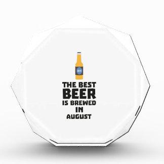Best Beer is brewed in August Zw06j Award