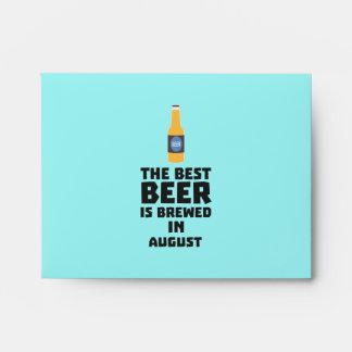 Best Beer is brewed in August Zw06j Envelope