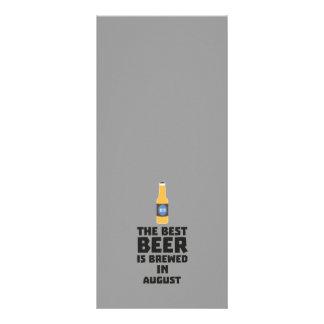Best Beer is brewed in August Zw06j Rack Card