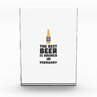 Best Beer is brewed in February Z4i8g Award