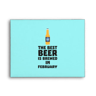 Best Beer is brewed in February Z4i8g Envelope