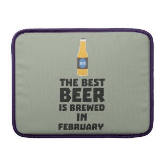 Best Beer is brewed in February Z4i8g MacBook Sleeve