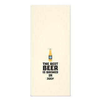 Best Beer is brewed in July Z4kf3 Card