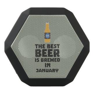 Best Beer is brewed in May Z96o7 Black Bluetooth Speaker