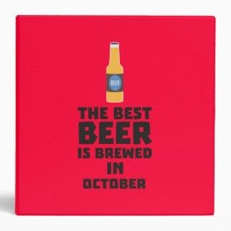 Best Beer is brewed in October Z5k5z Binder
