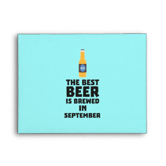 Best Beer is brewed in September Z40jz Envelope