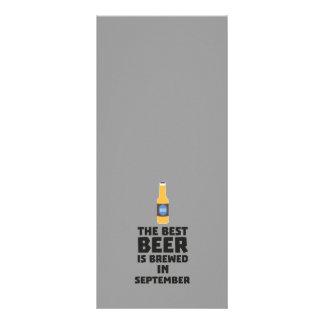 Best Beer is brewed in September Z40jz Rack Card