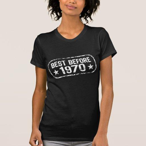 Best Before 1970 Tshirt