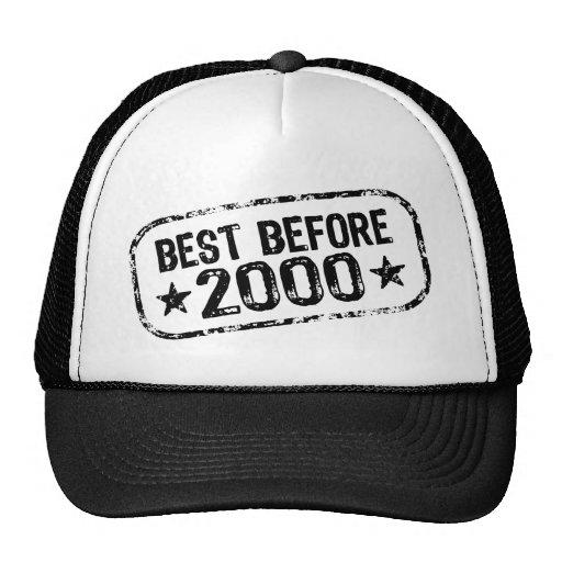 Best Before 2000 Trucker Hat