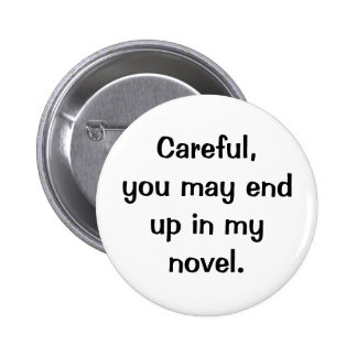 Best behavior pinback button