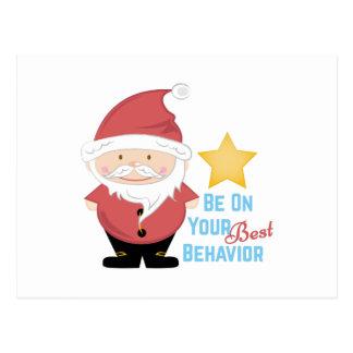 Best Behavior Postcard