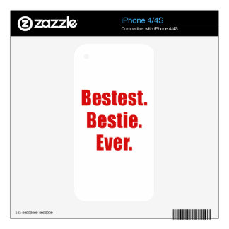 Best Bestie Ever iPhone 4S Skins