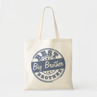 Best Big Brother - rubber stamp effect - Tote Bag