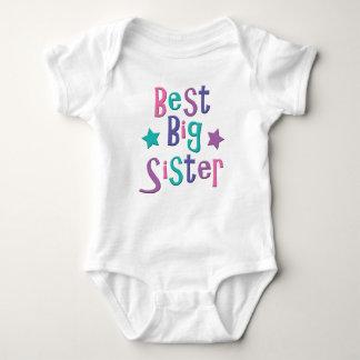Best Big Sister Baby Bodysuit