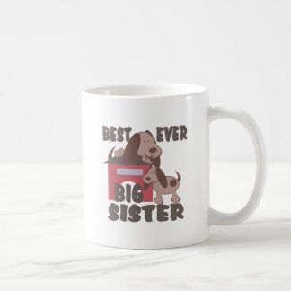 Best Big Sister Ever/ Doghouse Classic White Coffee Mug