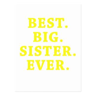 Best Big Sister Ever Postcard