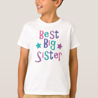 Best Big Sister T-Shirt