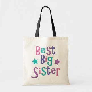 Best Big Sister Tote Bag