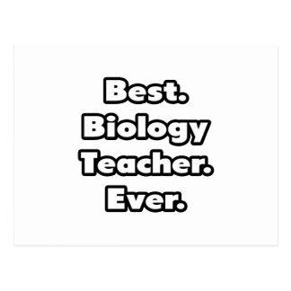 Best. Biology Teacher. Ever. Postcard