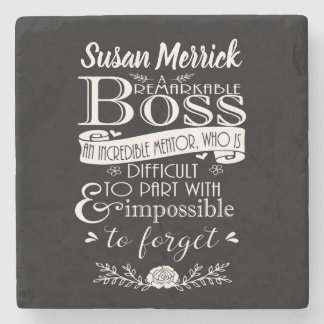Best Boss Appreciation Gift  Coaster