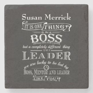 Best Boss Appreciation Gift  Coaster Custom