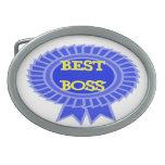 Best Boss Award Ribbon Belt Buckle