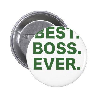 Best Boss Ever Pinback Buttons