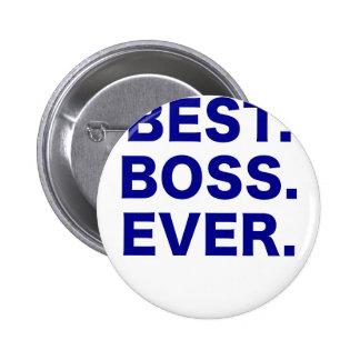 Best Boss Ever Buttons