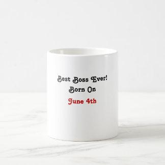Best Boss Ever! Coffee Mug
