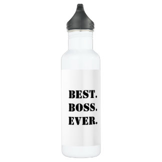 Best Boss Ever Customizable Stainless Steel Water Bottle