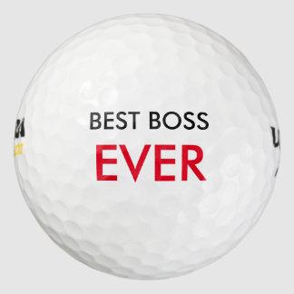 Best Boss Ever Golf Balls