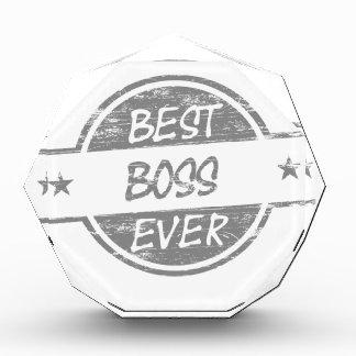 Best Boss Ever Gray Awards