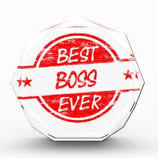 Best Boss Ever Red Award