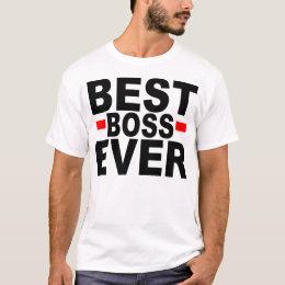best boss t shirt