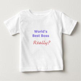 Best Boss Fun Baby T-Shirt