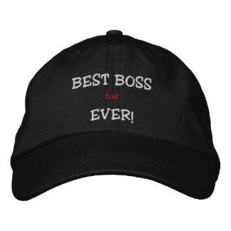 BEST BOSS (hat) EVER! Baseball Cap