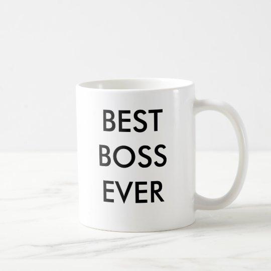 BEST BOSSEVER COFFEE MUG