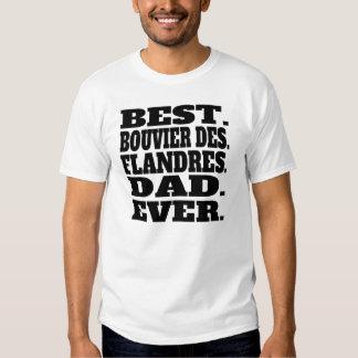 Best Bouvier des Flandres Dad Ever T Shirt
