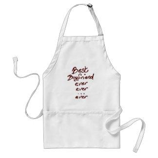 Best boyfriend ever adult apron