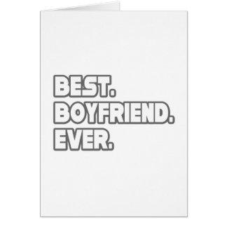 Best Boyfriend Ever Card