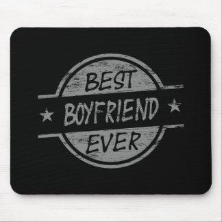 Best Boyfriend Ever Gray Mousepad