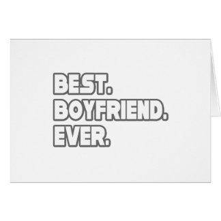 Best Boyfriend Ever Greeting Card